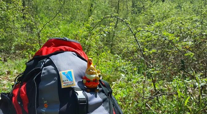 Prvi izlet planinarske škole- Mostarska Bijela