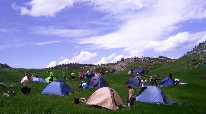 Završni vikend planinarske škole